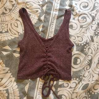 Knitted Crop Top (one size)