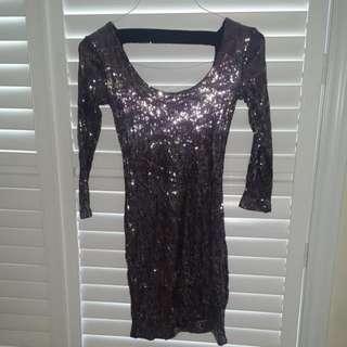 Dynamite Sequin Dress