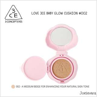 LOVE 3CE - 3 CONCEPT EYES BABY GLOW CUSHION -002