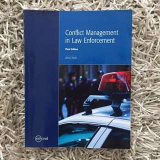 Conflict Management In Law Enforcement