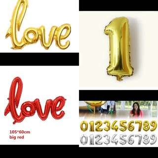Helium Balloons: Love And 21 Balloons!