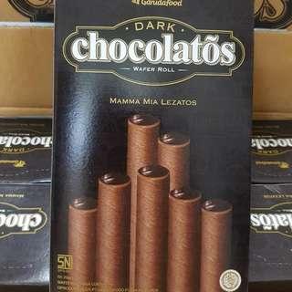 《現貨》黑雪茄巧克力威化捲