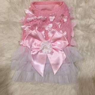 Pink Butterfly Dress