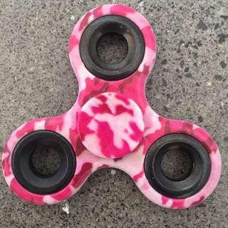 RARE Pink Camo Fidget Spinner