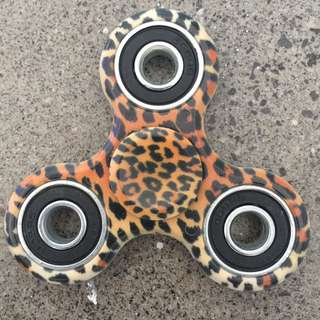 RARE Animal Print Fidget Spinner