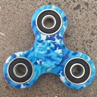 RARE Blue Camo Fidget Spinner