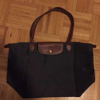 REDUCED Large Grey Longchamp Womens Purse