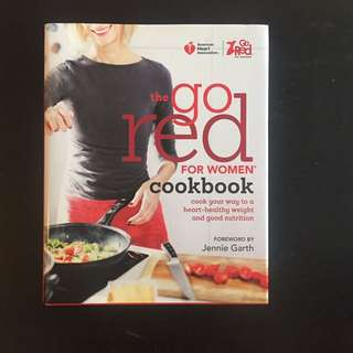 Go Red Cookbook For Women And Heart Health