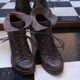 Grey Neosens Fall Boots