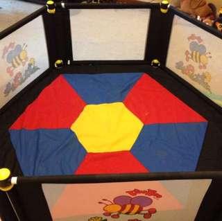VeeBee 6sided Baby Play Yard