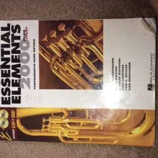 Essential Elements Baritone B.C Book 1