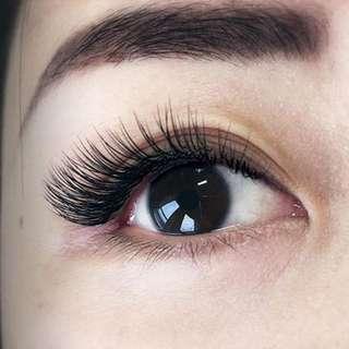 Private professional celebrity eyelash artist