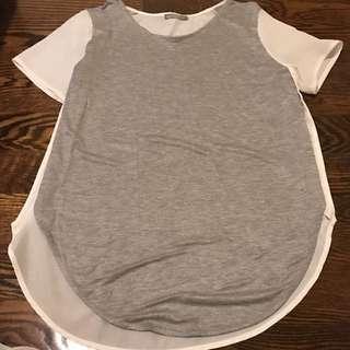 Grey Zara Shirt