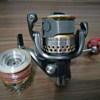 Customised Rod and shimano reel