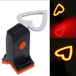 🆕Rechargeable COB LED Bicycle taillight