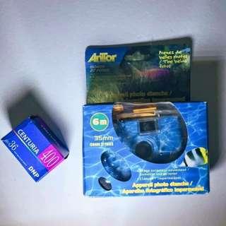 Underwater Toy Film Camera