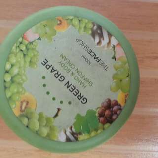 green grape hand and body lotion