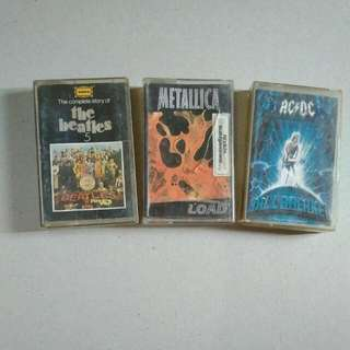 Beatles, Metallica-AC\DC