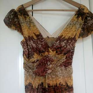 ECLIPSE Pattern Premium Dress
