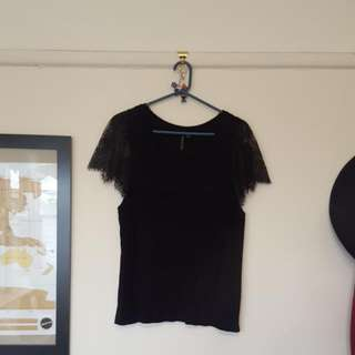 Ladies 16 Forever New Black Top