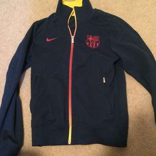 Barcelona Authentic Team Jacket