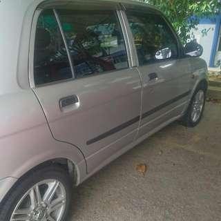 Perodua Kelisa 1.0 Manual For Rent