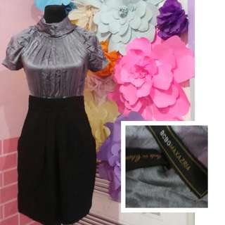 turtleneck dress.