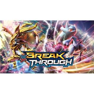 Breakthrough Pokemon TCG Online packs