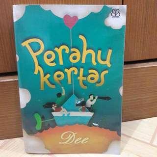 Novel Perahu Kertas - Dewi Lestari - Preloved