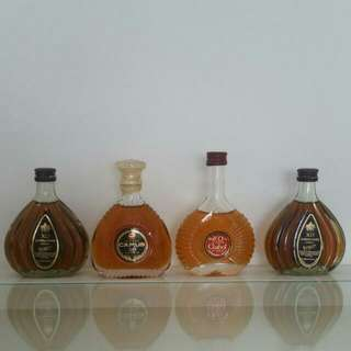20+yrs Brandy/whisky Miniature Collection