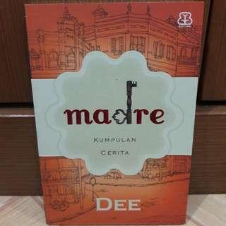 Novel Madre - Dewi Lestari - Preloved