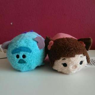 Sulley & Boo Tsum Tsum (Monsters Inc)