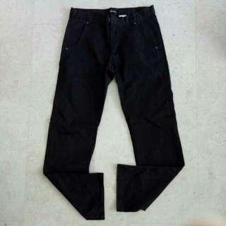 1 Pc Men's Black Pants (Size: L)