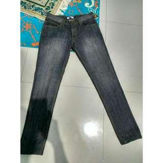 American Jeans Grey Stone Washed Denim
