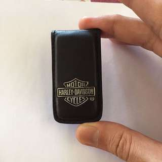 Harley-Davidson Leather Money Clip