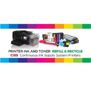 Printer Ink And Toner (Refill & Recycle)
