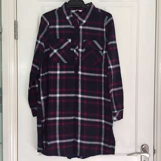Supre Checkered Dress Size 10 NWOT
