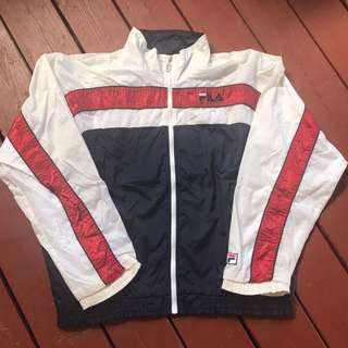 FILA Zip Up Track Jacket