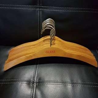 Guess wooden boomerang hanger