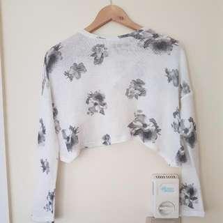 Rosebullet Knit Lightweight Crop Jumper Size 10