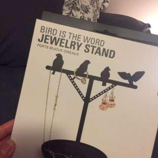 Black Jewellery Stand