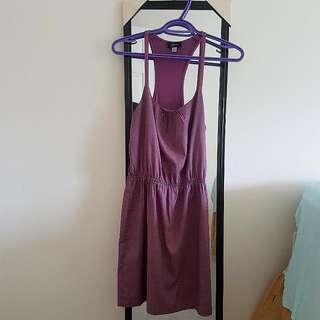 Purple Patterned GUESS Dress