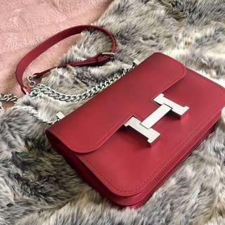 Red Purse (clutch) bag