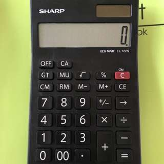 Sharp 12digit electronic calculator