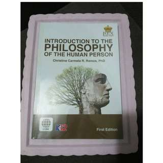 Introduction to the Philosophy of the Human Person Textbook