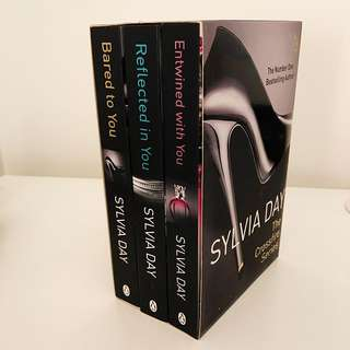 The Crossfire Series By Sylvia Day Books 1-3