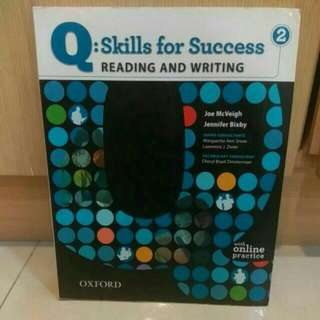Q skills for success reading and writing