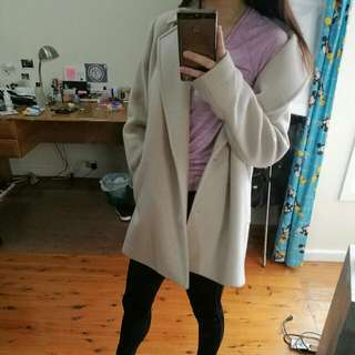 Muted Baby Pink Coat