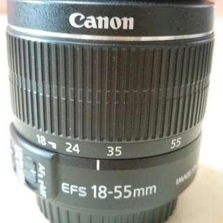 二手EF-S 18-55mm f/3.5-5.6 IS ll