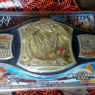 Wrestle Mania XXIV WWE Champ Belt